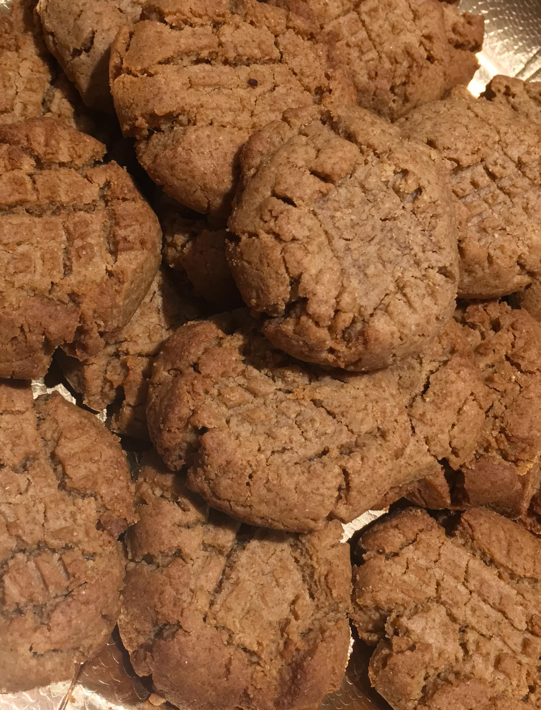 Vegan peanut butter cookies s
