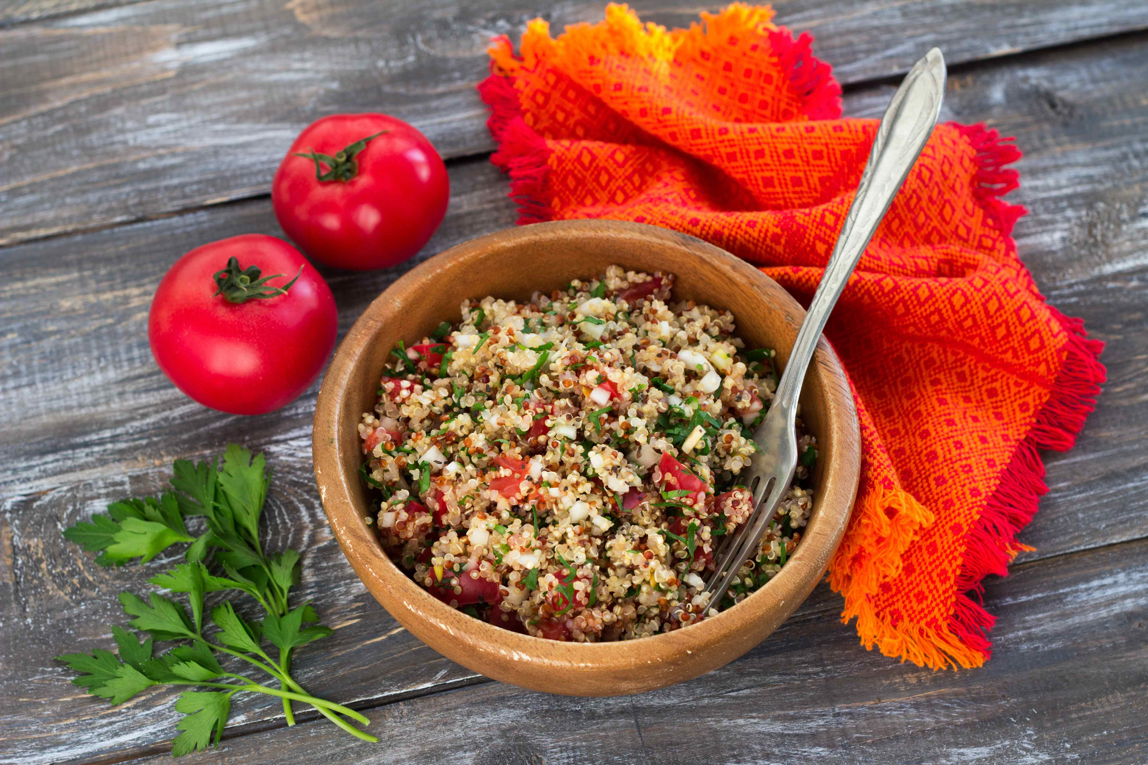 quinoa salad photo